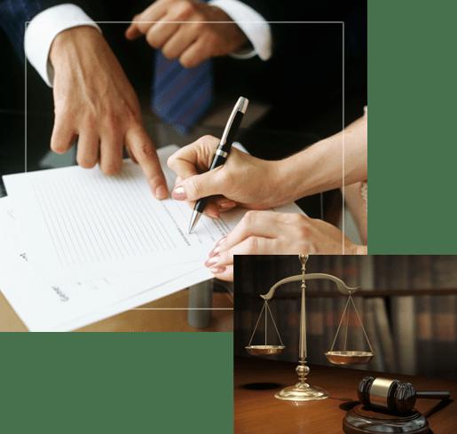 firma ed clliente y abogado